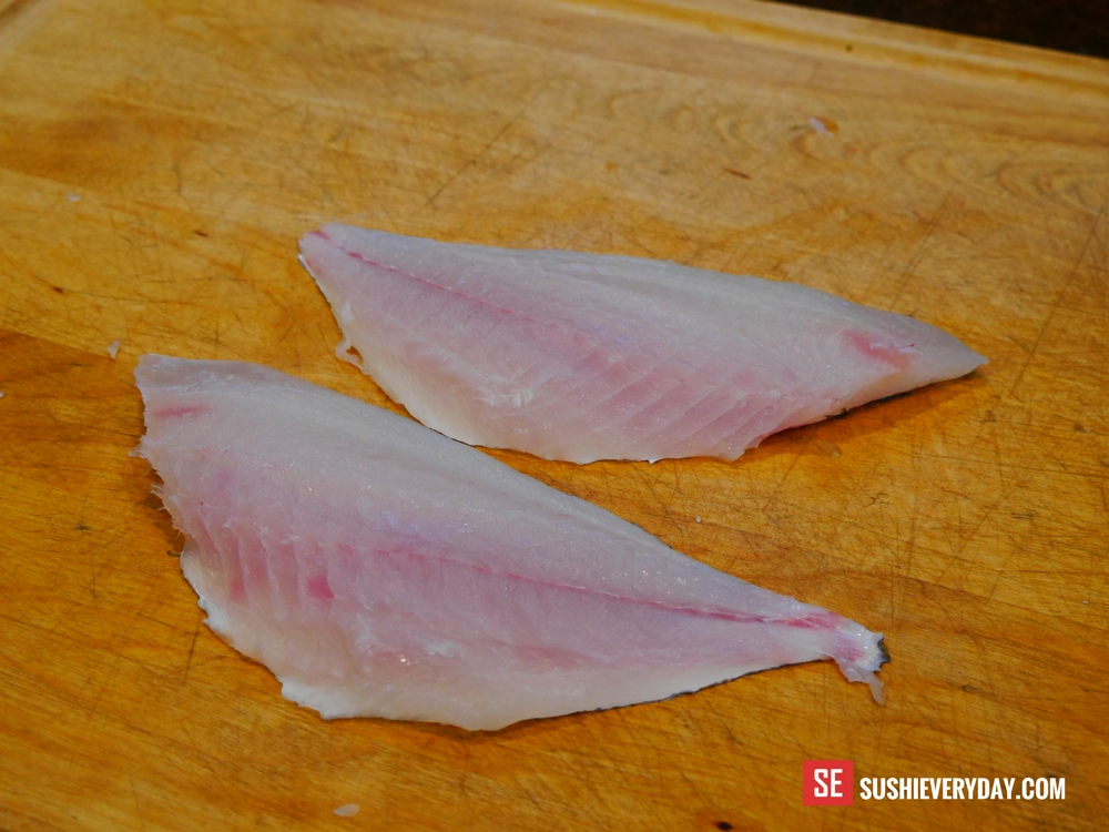Porgy sushi and sashimi sushi everyday for Porgy fish recipe