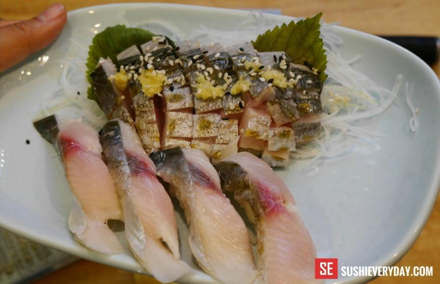 Kiriko: Showcasing Sushi via Tokyo on Sawtelle - Food GPS  Japanese Mackerel Sushi