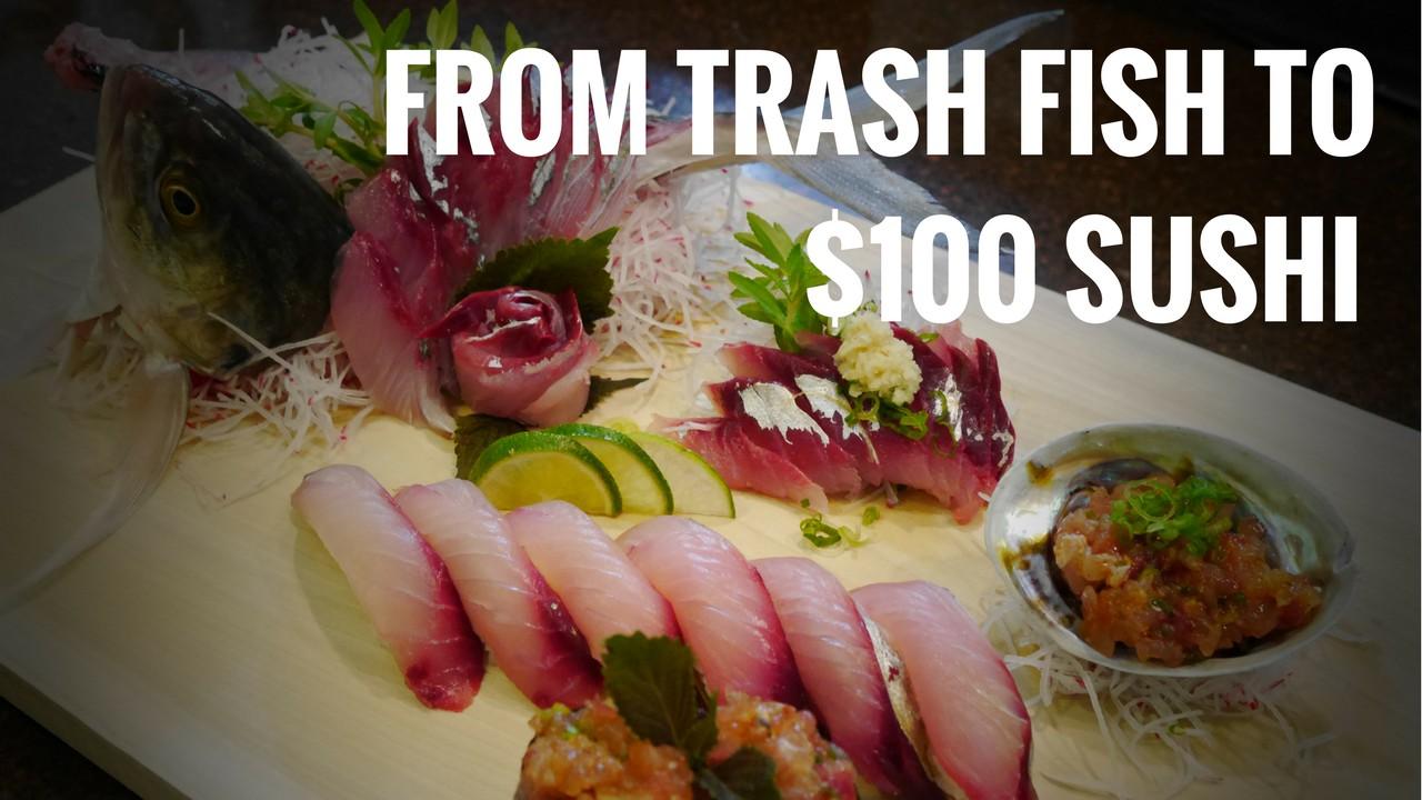 Blue runner sushi sushi everyday for Blue fish sushi